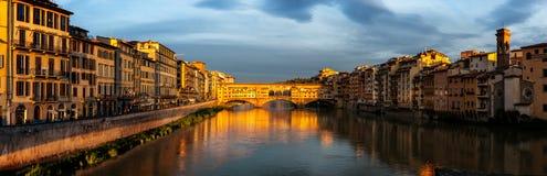 Foot bridge Vecchio Florence Royalty Free Stock Image