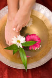 Foot care Royalty Free Stock Image