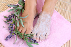 Foot care Royalty Free Stock Photo