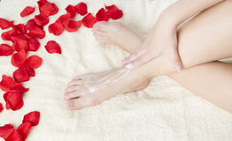 Foot care Royalty Free Stock Images