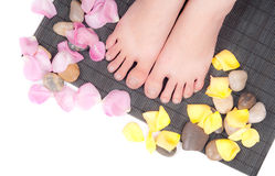 Foot Care Concept Stock Photography