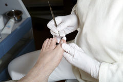 Foot care - Pedicure - Chiropody Royalty Free Stock Photos