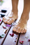 Foot care-spa Stock Photos