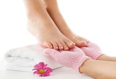 Foot care Royalty Free Stock Photos