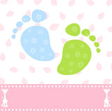 Foot of the child Royalty Free Stock Photos