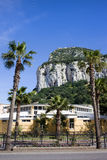Foot of Gibraltar Rock Royalty Free Stock Image