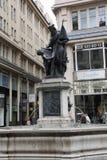 Foot Graben Street in Vienna Stock Photography
