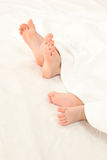 Foot of infants Royalty Free Stock Photography