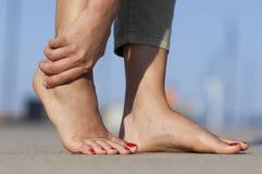 Foot injury Royalty Free Stock Photo