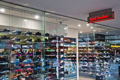 Foot Locker shop Royalty Free Stock Photography