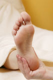 Foot massage#1 Royalty Free Stock Photo