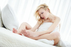 Free Foot Massage Stock Photography - 12708812