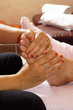 Foot massage Royalty Free Stock Image