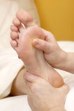 Foot massage#2 Stock Photo