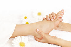 Foot massage Royalty Free Stock Photos