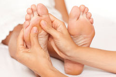 Free Foot Massage Royalty Free Stock Photography - 77818017