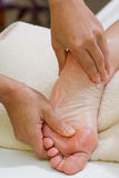 Foot massage Royalty Free Stock Photography
