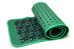 Foot massage mat (stone road) Stock Photography