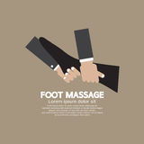 Foot Massage Relaxing Royalty Free Stock Images