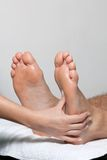 Foot Massage In Spa Royalty Free Stock Images