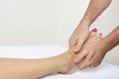 Foot massage Royalty Free Stock Photos