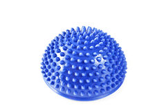 Foot massaging balancing ball Stock Image