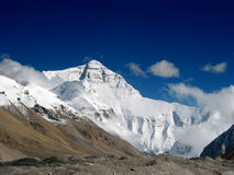 At the Foot of Mt. Everest Stock Image