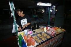 Foot at night market Royalty Free Stock Photos