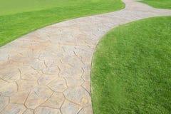 Foot path Stock Photo