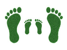 Foot print Concept. 3D Rendered Image Royalty Free Stock Photo
