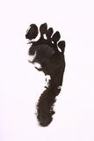 Foot print Royalty Free Stock Images