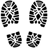 Foot prints Royalty Free Stock Photography