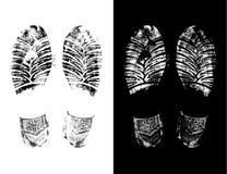 Foot prints Stock Photo