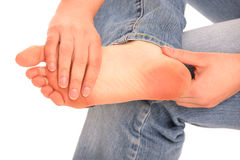 Foot problem Stock Photography