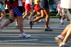 Foot Race Royalty Free Stock Image