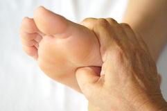 Foot Reflexology Series 2 Stock Photos
