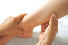 Foot Reflexology Series 5 Royalty Free Stock Photos
