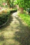 Foot Reflexology Walking Path. Image of foot reflexology walking path in the park stock images