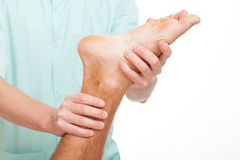 Foot rehabilitation Royalty Free Stock Images