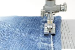 Foot of Sewing Machine Royalty Free Stock Photography