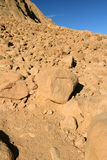 Foot of Sinai. Ancient stones at a foot of Sinai Royalty Free Stock Images
