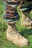 Foot soldier Stock Photo