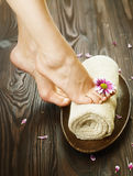 Foot Spa Royalty Free Stock Photography