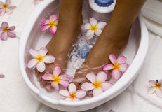 Foot spa royalty free stock images