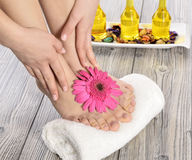 Foot Spa Stock Images
