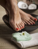 Foot Spa Background Royalty Free Stock Photo