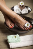 Foot Spa Background Royalty Free Stock Photography