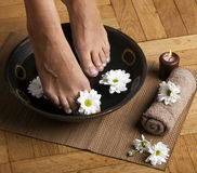 Foot Spa Stock Photography