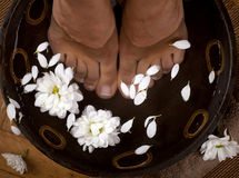 Foot Spa Royalty Free Stock Photo