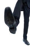 Foot step closeup Stock Photos